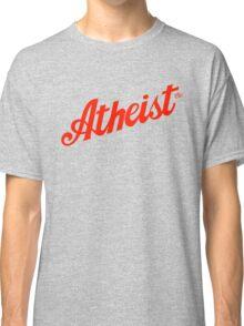Classic Atheist Script by Tai's Tees Classic T-Shirt