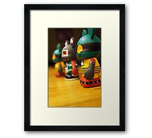 We Three Mickeys Framed Print