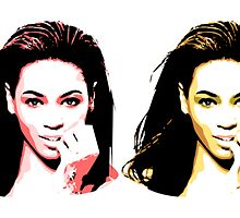 Beyonce  - Color - Pop Art by wcsmack