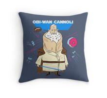 Obi-Wan Cannoli (PUN PANTRY) Throw Pillow