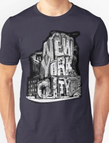 New York City Pencil by Tai's Tees T-Shirt