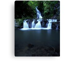 """""""Elabana Falls"""" ∞ Lamington National Park, QLD - Australia Canvas Print"""