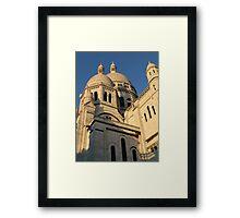 Sunny Days at Montmartre Framed Print