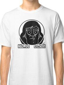 Stelio Kontos (blk) by Tai's Tees Classic T-Shirt