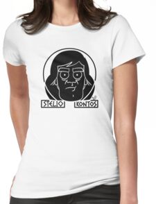 Stelio Kontos (blk) by Tai's Tees Womens Fitted T-Shirt