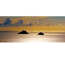 The Skellig Islands Photographic Print