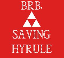 BRB- SAVING HYRULE Womens Fitted T-Shirt