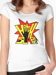 HITCH SLAP! Women's Fitted Scoop T-Shirt
