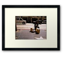 Born to Rock & Roll Framed Print