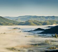 Obi Obi Valley Sunrise by Kate Wall