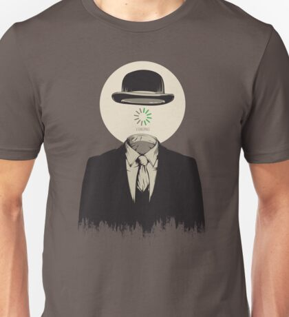 Magritte | The Loading of Man Unisex T-Shirt