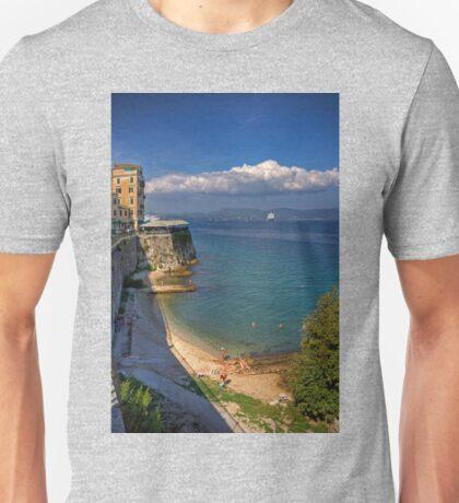 Swimming in Garitsa Bay Unisex T-Shirt