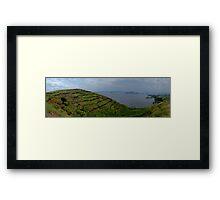 Lake Uganda Framed Print