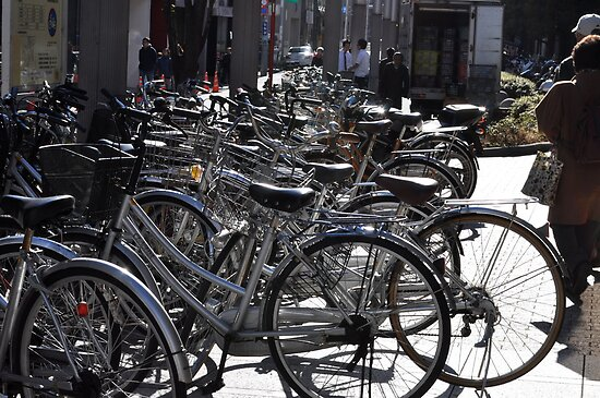 Lots of Bicycles by junkgirl