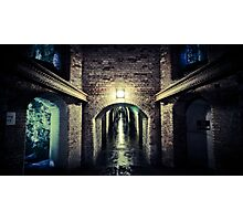 tunnels of fort nelson Photographic Print