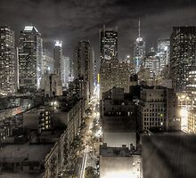 New York night view by IceCool