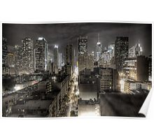 New York night view Poster