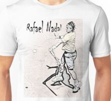 Forehand stroke (Rafael Nadal) Unisex T-Shirt
