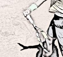 Forehand stroke (Rafael Nadal) Sticker