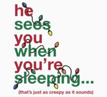 Creepy Santa One Piece - Short Sleeve