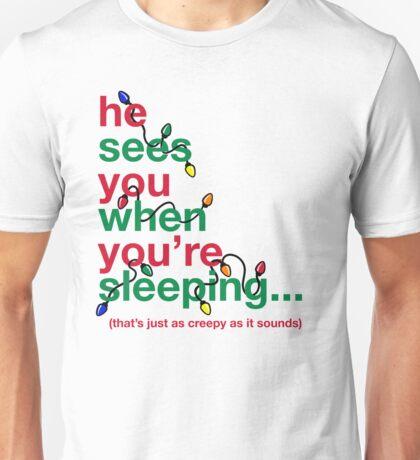 Creepy Santa Unisex T-Shirt
