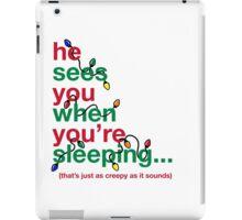 Creepy Santa iPad Case/Skin
