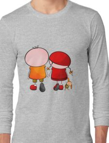 Lovely Couple Long Sleeve T-Shirt