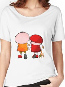 Lovely Couple Women's Relaxed Fit T-Shirt