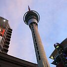 Sky Tower in Auckland NZ by RobertaMayanah
