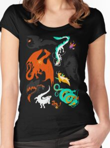 A Flight with Dragons Women's Fitted Scoop T-Shirt