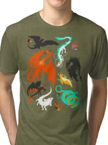 A Flight with Dragons Tri-blend T-Shirt