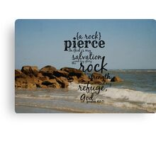 Pierce Canvas Print