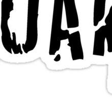 Melbourne Quake survivor tshirt Sticker