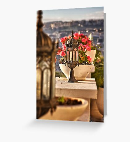 A Touch of Class Greeting Card