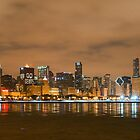 Chicago Bears Skyline by ChicagoPhotoSho