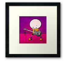 Rockstar Boy Framed Print