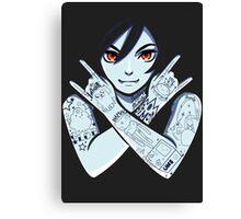 Vampire Queen Canvas Print
