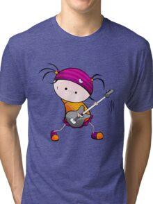 Rockstar Girl Tri-blend T-Shirt