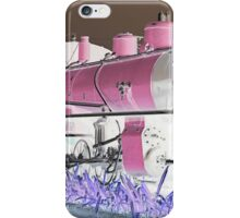 Steam Train. iPhone Case/Skin
