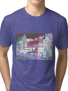Steam Train. Tri-blend T-Shirt