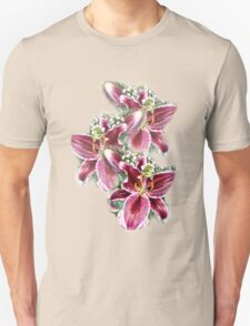 3 LILIES TEE SHIRT/BABY GROW/STICKER T-Shirt
