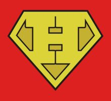 Super Bold & Gold H Logo by adamcampen