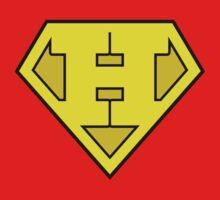 Super Bold & Gold H Logo by adamcampen