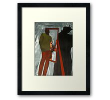 Devil Within Is The Devil Without Framed Print
