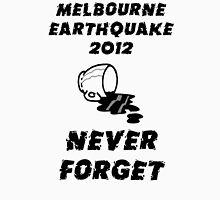 Melbourne Earthquake 2012 Commemorative Shirt T-Shirt