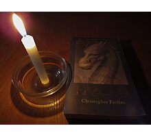 Of dragons and candles.. Photographic Print