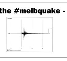 I survived the #melbquake - 19/6/2012 Sticker