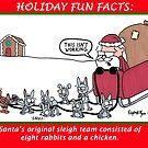 Santa's Original Team by JonsCrazyShirts