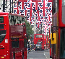 Getting ready for the Queen's Diamond Jubilee by KUJO-Photo