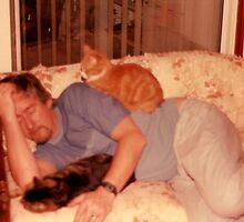 LAZY BONES! or Should it be a Cat Napp! by David A. Everitt (aka silverstrummer)